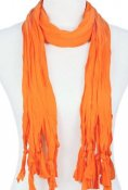 Basdel scarfshalsband orange 1 st